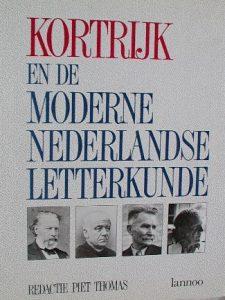 Kortrijk en de moderne Nederlandse letterkunde