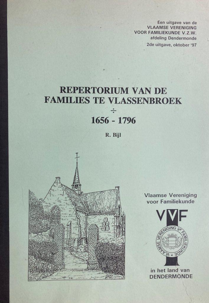 Repertorium van de families te Vlassenbroek