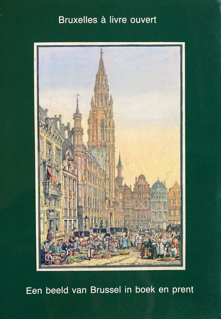 Een beeld van Brussel in boek en prent